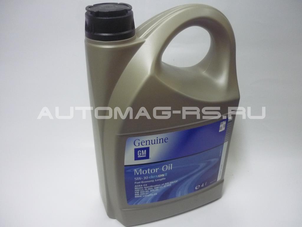 Масло для двигателя Шевроле Спарк, Chevrolet Spark (М300) 4л (оригинал)