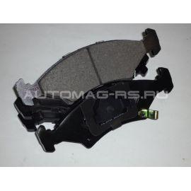 Накладки тормозные передние для Chevrolet Cobalt без ABS
