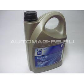 Канистра 5 литров GM Dexos 2 5W-30, Масло в двигатель Опель Мокка, Opel Mokka 5л (оригинал) GM Dexos 2 5W-30