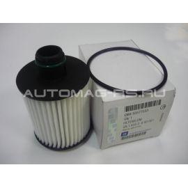 Масляный фильтр (картридж) для Опель Инсигниа, Opel Insignia дизельные двигатели (оригинал)