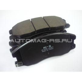 Тормозные накладки передние для Опель Антара, Opel Antara (аналог)