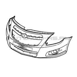 Бампер передний Шевроле Кобальт, Chevrolet Cobalt (оригинал)