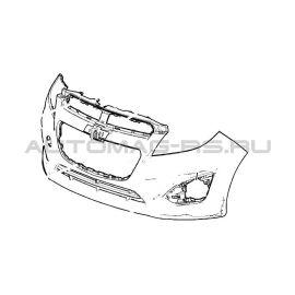 Бампер передний Шевроле Спарк, Chevrolet Spark (M300) (оригинал)