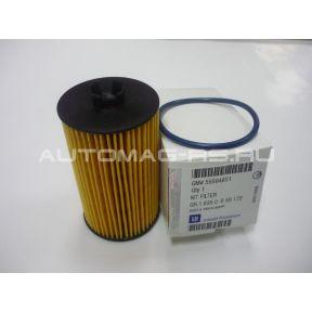 Масляный фильтр (картридж) для Опель Астра J, Opel Astra J бензиновые двигатели (оригинал)