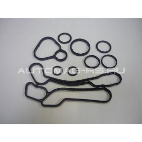 Прокладки теплообменника Opel Astra H - комплект 9шт. (аналог)