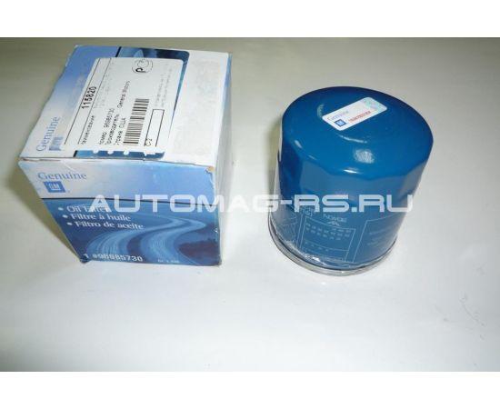 Фильтр масляный Шевроле Авео Т250, Chevrolet Aveo Т250 1,2 8кл. (оригинал)