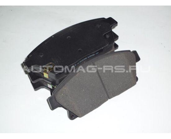 Накладки тормозные передние для Chevrolet Cobalt с ABS