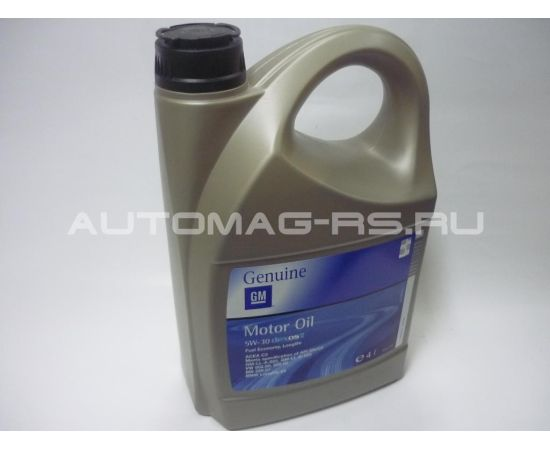 масло GM DEXOS 2 5w-30