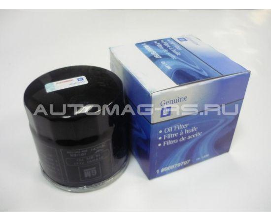 Фильтр масляный Шевроле Авео Т250, Chevrolet Aveo Т250 1,2 16 кл. (оригинал)