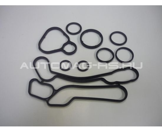 Прокладки теплообменника 9шт для Опель Астра, Opel Astra J A16XER, A18XER (аналог)