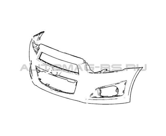 Бампер передний Chevrolet Aveo Т300