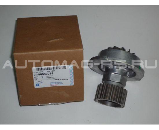 Насос системы охлаждения (помпа) для Шевроле Лачетти, Chevrolet Lacetti 1,4 - 1,6 (оригинал)